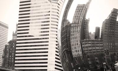 Blanco y negro - en Chicago